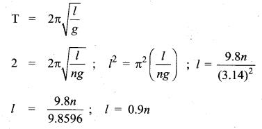 Samacheer Kalvi 11th Physics Solutions Chapter 10 Oscillations 1