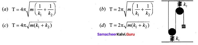 Samacheer Kalvi 11th Physics Solutions Chapter 10 Oscillations 12