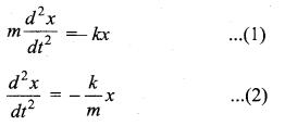 Samacheer Kalvi 11th Physics Solutions Chapter 10 Oscillations 70