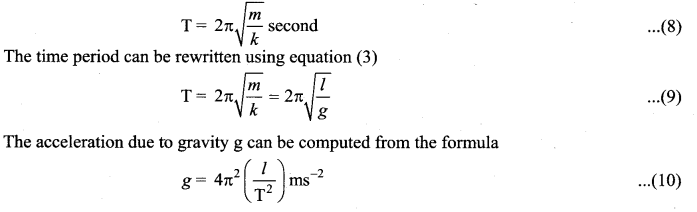 Samacheer Kalvi 11th Physics Solutions Chapter 10 Oscillations 77
