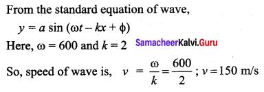 Samacheer Kalvi 11th Physics Solutions Chapter 11 Waves 111