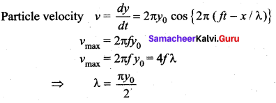 Samacheer Kalvi 11th Physics Solutions Chapter 11 Waves 123