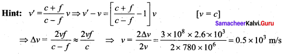 Samacheer Kalvi 11th Physics Solutions Chapter 11 Waves 126