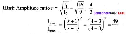 Samacheer Kalvi 11th Physics Solutions Chapter 11 Waves 190