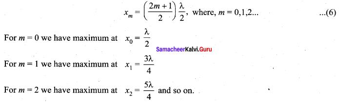 Samacheer Kalvi 11th Physics Solutions Chapter 11 Waves 53