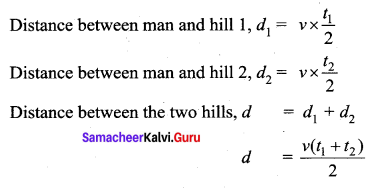 Samacheer Kalvi 11th Physics Solutions Chapter 11 Waves 8