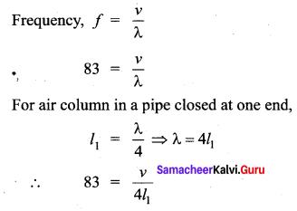 Samacheer Kalvi 11th Physics Solutions Chapter 11 Waves 9