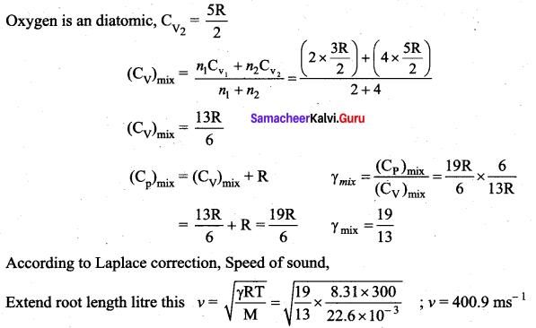 Samacheer Kalvi 11th Physics Solutions Chapter 11 Waves 976