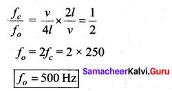 Samacheer Kalvi 11th Physics Solutions Chapter 11 Waves 980