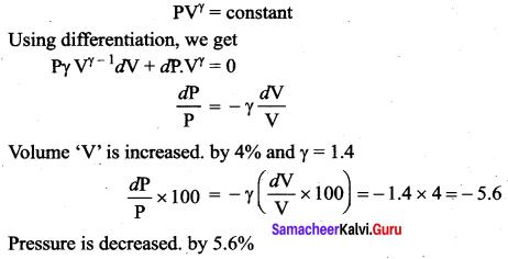 Samacheer Kalvi 11th Physics Solutions Chapter 8 Heat and Thermodynamics 233