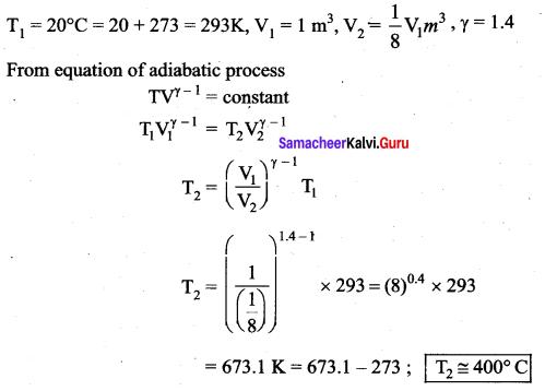 Samacheer Kalvi 11th Physics Solutions Chapter 8 Heat and Thermodynamics 234