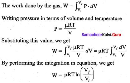 Samacheer Kalvi 11th Physics Solutions Chapter 8 Heat and Thermodynamics 26