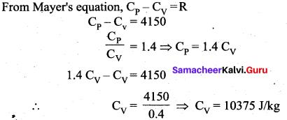 Samacheer Kalvi 11th Physics Solutions Chapter 8 Heat and Thermodynamics 312