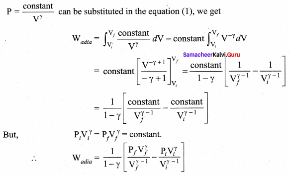 Samacheer Kalvi 11th Physics Solutions Chapter 8 Heat and Thermodynamics 72