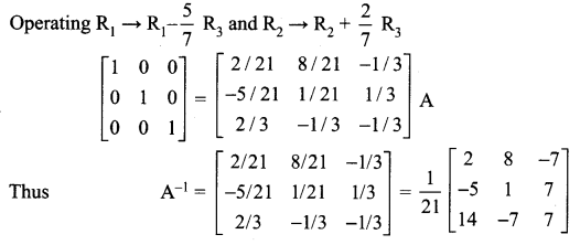 Samacheer Kalvi 12th Maths Solutions Chapter 1 Applications of Matrices and Determinants Ex 1.1 13