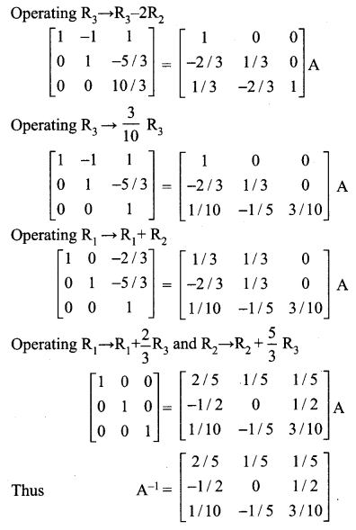 Samacheer Kalvi 12th Maths Solutions Chapter 1 Applications of Matrices and Determinants Ex 1.1 4
