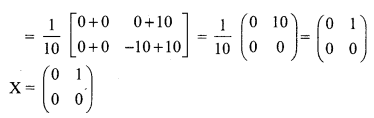 Samacheer Kalvi 12th Maths Solutions Chapter 1 Applications of Matrices and Determinants Ex 1.1 Q13.1
