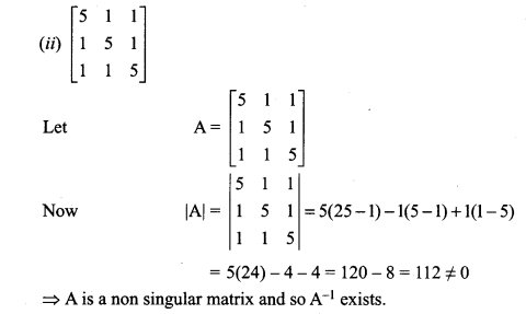 12th Maths 1st Chapter Exercise 1.1 Samacheer Kalvi Applications Of Matrices And Determinants