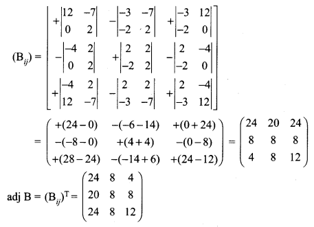 Samacheer Kalvi 12th Maths Solutions Chapter 1 Applications of Matrices and Determinants Ex 1.1 Q8.1