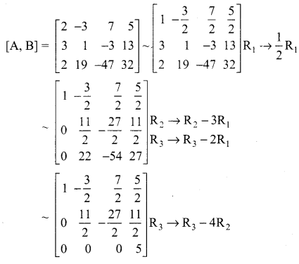 Samacheer Kalvi 12th Maths Solutions Chapter 1 Applications of Matrices and Determinants Ex 1.5 100