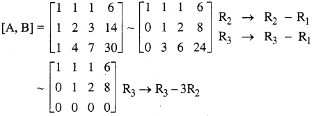 Samacheer Kalvi 12th Maths Solutions Chapter 1 Applications of Matrices and Determinants Ex 1.5 111
