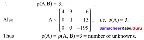 Samacheer Kalvi 12th Maths Solutions Chapter 1 Applications of Matrices and Determinants Ex 1.5 2