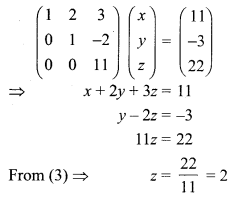 Samacheer Kalvi 12th Maths Solutions Chapter 1 Applications of Matrices and Determinants Ex 1.5 Q1.4