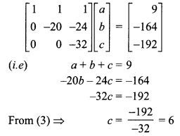 Samacheer Kalvi 12th Maths Solutions Chapter 1 Applications of Matrices and Determinants Ex 1.5 Q2.1
