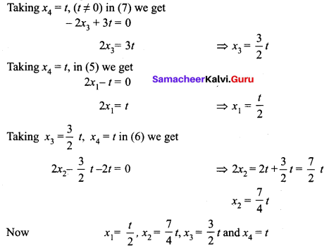 Samacheer Kalvi 12th Maths Solutions Chapter 1 Applications of Matrices and Determinants Ex 1.7 Q3.1