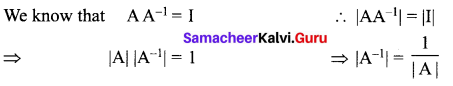 Samacheer Kalvi 12th Maths Solutions Chapter 1 Applications of Matrices and Determinants Ex 1.8 2