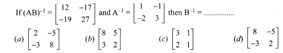 Samacheer Kalvi 12th Maths Solutions Chapter 1 Applications of Matrices and Determinants Ex 1.8 Q10