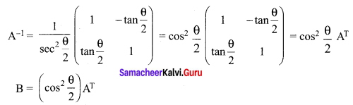 Samacheer Kalvi 12th Maths Solutions Chapter 1 Applications of Matrices and Determinants Ex 1.8 Q14.2