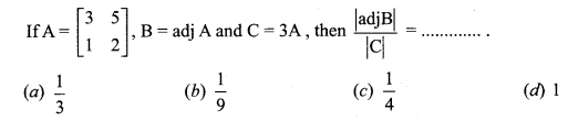 Samacheer Kalvi 12th Maths Solutions Chapter 1 Applications of Matrices and Determinants Ex 1.8 Q3