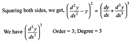 Samacheer Kalvi 12th Maths Solutions Chapter 10 Ordinary Differential Equations Ex 10.1 29