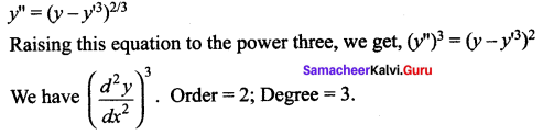 Samacheer Kalvi 12th Maths Solutions Chapter 10 Ordinary Differential Equations Ex 10.1 31