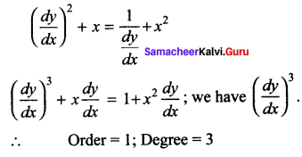 Samacheer Kalvi 12th Maths Solutions Chapter 10 Ordinary Differential Equations Ex 10.1 37
