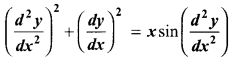 Samacheer Kalvi 12th Maths Solutions Chapter 10 Ordinary Differential Equations Ex 10.1 4