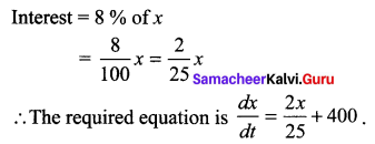 Samacheer Kalvi 12th Maths Solutions Chapter 10 Ordinary Differential Equations Ex 10.2 4