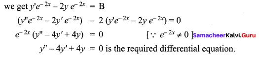 Samacheer Kalvi 12th Maths Solutions Chapter 10 Ordinary Differential Equations Ex 10.3 16