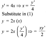Samacheer Kalvi 12th Maths Solutions Chapter 10 Ordinary Differential Equations Ex 10.4 1