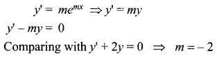 Samacheer Kalvi 12th Maths Solutions Chapter 10 Ordinary Differential Equations Ex 10.4 2