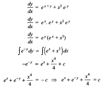 Samacheer Kalvi 12th Maths Solutions Chapter 10 Ordinary Differential Equations Ex 10.5 14