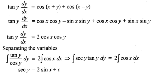 Samacheer Kalvi 12th Maths Solutions Chapter 10 Ordinary Differential Equations Ex 10.5 211