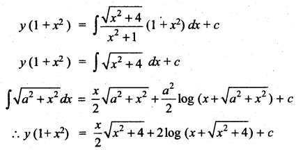 Samacheer Kalvi 12th Maths Solutions Chapter 10 Ordinary Differential Equations Ex 10.7 121