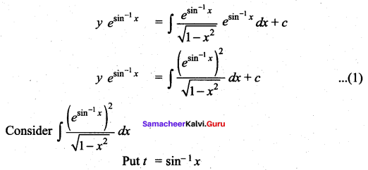 Samacheer Kalvi 12th Maths Solutions Chapter 10 Ordinary Differential Equations Ex 10.7 21