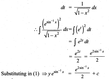 Samacheer Kalvi 12th Maths Solutions Chapter 10 Ordinary Differential Equations Ex 10.7 22