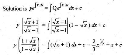 Samacheer Kalvi 12th Maths Solutions Chapter 10 Ordinary Differential Equations Ex 10.7 26