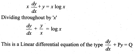 Samacheer Kalvi 12th Maths Solutions Chapter 10 Ordinary Differential Equations Ex 10.7 40