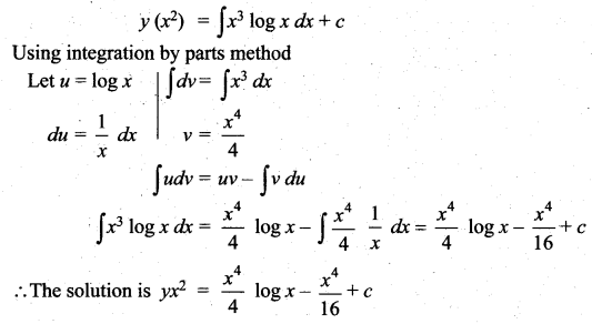 Samacheer Kalvi 12th Maths Solutions Chapter 10 Ordinary Differential Equations Ex 10.7 44