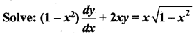 Samacheer Kalvi 12th Maths Solutions Chapter 10 Ordinary Differential Equations Ex 10.7 49